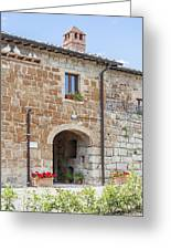 Tuscan Old Stone Building Greeting Card