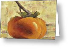 Tuscan Persimmon Greeting Card