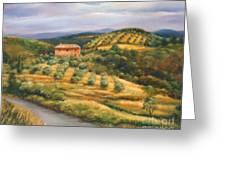 Tuscan Summer Greeting Card