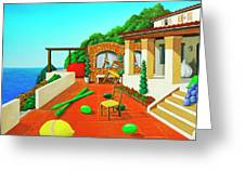 Tuscan Vacation Greeting Card