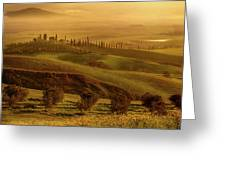 Tuscan Villa Greeting Card