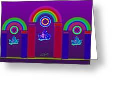 Tuscan Violet Greeting Card