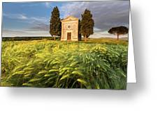 Tuscany Chapel Greeting Card