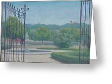 Tuscany Garden Greeting Card