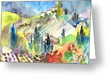 Tuscany Landscape 03 Greeting Card