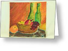 Tuscany Lunch Greeting Card