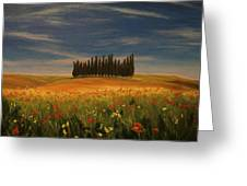 Tuscany Soldiers  Greeting Card