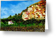 Tuscany Spring Greeting Card