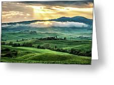 Tuscany Sunburst- Greeting Card