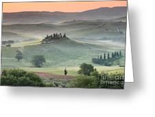 Tuscany Greeting Card by Tuscany