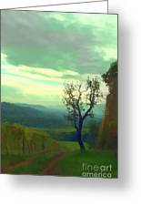 Tuscany Vineyard  Greeting Card