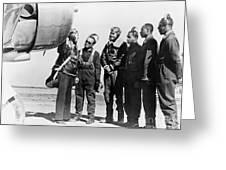 Tuskegee Airmen, 1942 Greeting Card