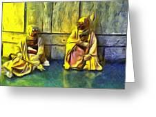 Tuskens At Break - Da Greeting Card