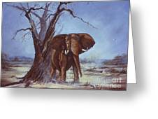 Tusker Greeting Card