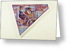 Tweed Run London Princess And Guvnor  Greeting Card