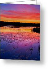 Twilight Afterglow #1 Greeting Card