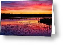 Twilight Afterglow #2 Greeting Card