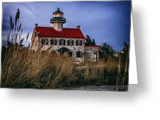 Twilight At East Point Greeting Card