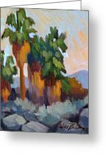 Twilight At Indian Canyons  Greeting Card
