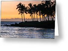 Twilight At Waikoloa Greeting Card