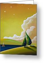 Twilight Bay Greeting Card