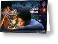 Twilight Greeting Card by Bryan Allen