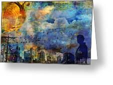 Twilight Dreams Greeting Card
