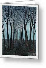 Twilight Forest Greeting Card