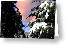 Twilight Hour Greeting Card