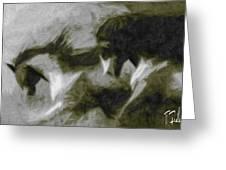 Twilight In Mescalero Greeting Card