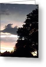 Twilight Landscape Greeting Card