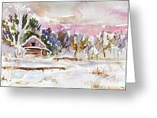Twilight Serenade I Greeting Card