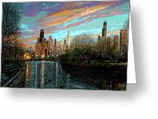 Twilight Serenity II Greeting Card