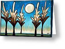 Twilight Woods Greeting Card