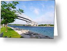 Twin Bridges Greeting Card