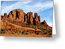 Twin Buttes Sedona Az Hbn2 Greeting Card