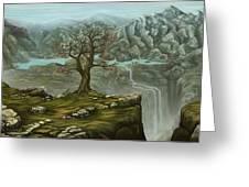 Twin Falls Kingdom Greeting Card