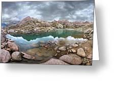 Twin Lakes - Weminuche Wilderness - Colorado Greeting Card