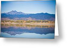 Twin Peaks Reflection Greeting Card