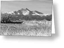 Twin Peaks Rustic Fence Greeting Card