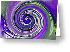Twirl 02c Greeting Card