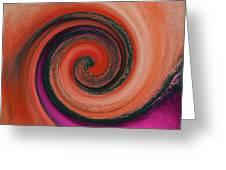 Twirl 07 Greeting Card