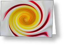 Twirled Cistus 1 Greeting Card