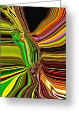 Twisted Glass Greeting Card
