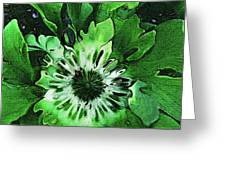 Twisted Leaves Greeting Card