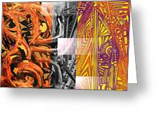 Twisted Steel Greeting Card