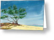 Two At The Beach Greeting Card