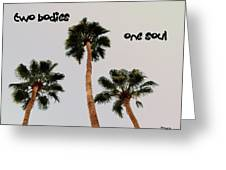 Two Bodies Greeting Card