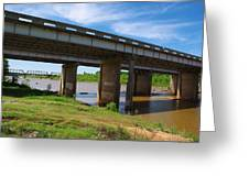 Two Bridges Greeting Card
