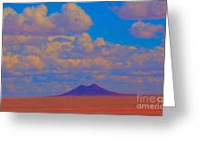 Two Butte Colorado Revisited Greeting Card